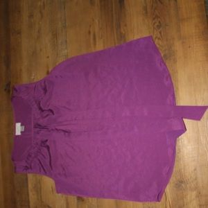 Loft Medium Purple Tank Top
